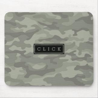 Custom Camo Camouflage Army Print Mouse Pad