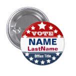 Custom Campaign Templage 3 Cm Round Badge