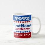 Custom Campaign Template Basic White Mug