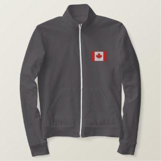 Custom Canadian Hockey Team Embroidered Jacket