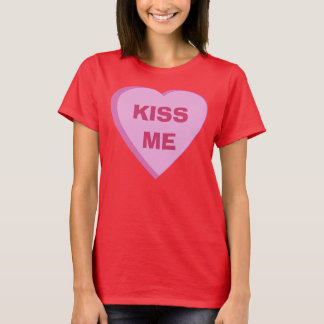 Custom Candy Heart T-shirt