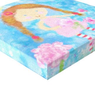 Custom Canvas, Cute Girl Canvas Print