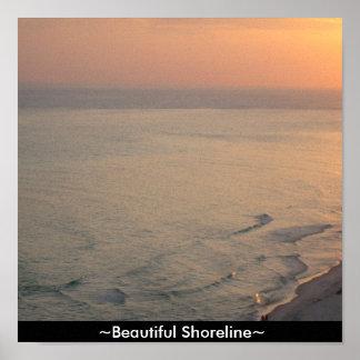 Custom Canvas Print Beautiful Shoreline Ocean