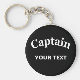 CUSTOM CAPTAIN KEY RING