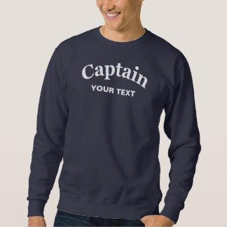 CUSTOM CAPTAIN SWEATSHIRT