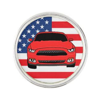 Custom car design lapel pin