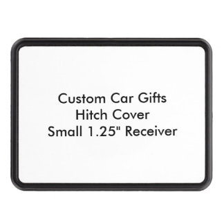 Custom Car Gifts Hitch Cover Small 1 25 Receiver