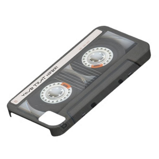 Custom Cassette Mixtape iPhone 5 Cases