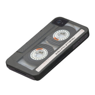Custom Cassette Mixtape iPhone 4 Case