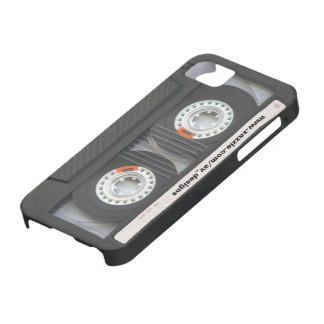 Custom Cassette Mixtape iPhone 5 Cover