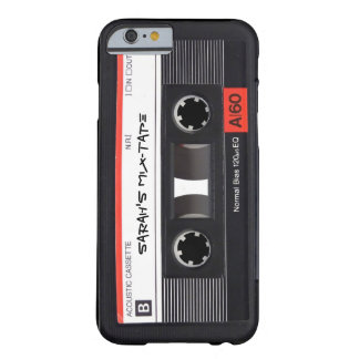 Custom Cassette Tape Barely There iPhone 6 Case