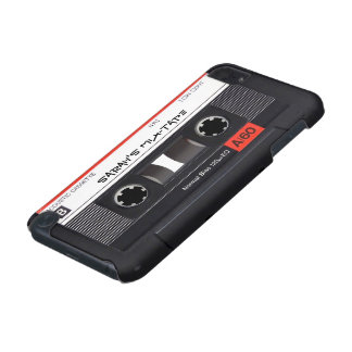 Custom Cassette Tape iPod Touch (5th Generation) Case