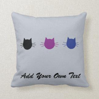 Custom Cat Personalised Design Gift Cushion