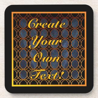Custom Celtic Art Design Coaster