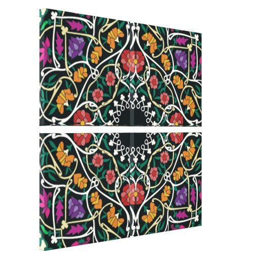 Custom Celtic Knot Abstract  Wrapped Canvas Stretched Canvas Print