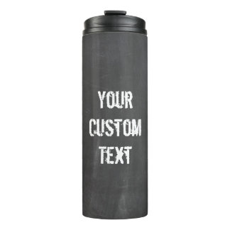 Custom Chalk Board Travel Tumbler