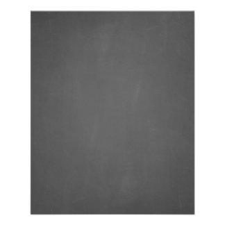 Custom Chalkboard Background Template Flyer