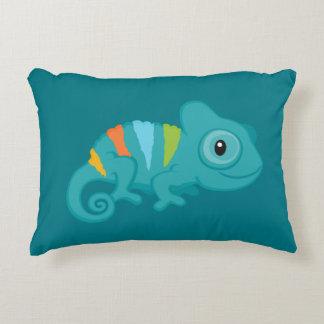 Custom Chameleon Accent Pillow