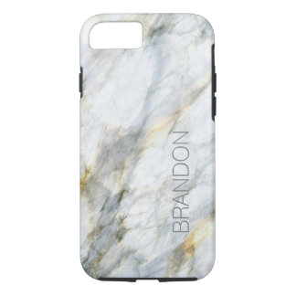 Custom Chic Trendy Marble Stone Texture Pattern iPhone 8/7 Case