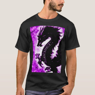 Custom Chinese Dream Dragon Fantasy Art Nouveau T-Shirt