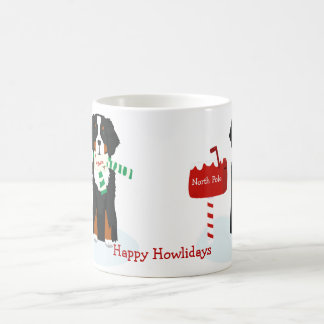 Custom Christmas Bernese Mt Dog Letter To Santa Coffee Mug