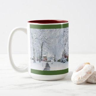 CUSTOM CHRISTMAS COFFEE MUG WITH PHOTO