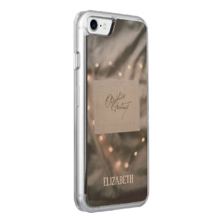 Custom Christmas, Holidays, Decorations Carved iPhone 8/7 Case