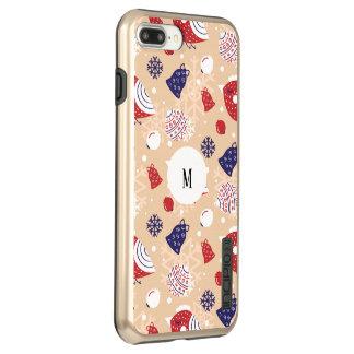 Custom Christmas, holidays, tree decorations Incipio DualPro Shine iPhone 8 Plus/7 Plus Case