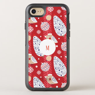Custom Christmas, holidays, tree decorations OtterBox Symmetry iPhone 8/7 Case