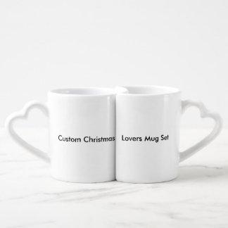 Custom Christmas Lovers Mug Set