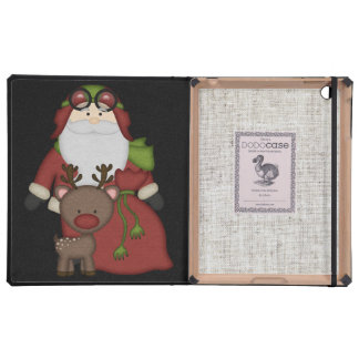 Custom Christmas Santa Cover For iPad