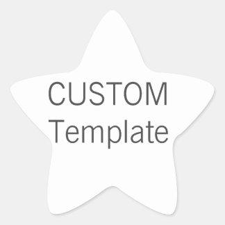 Custom Christmas STAR Shaped Gift Stickers