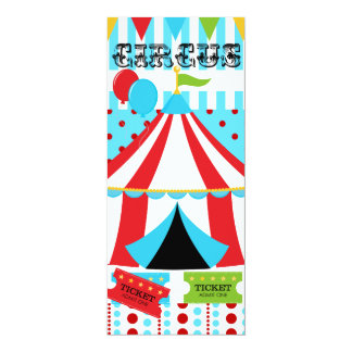 Custom Circus Birthday Invitation