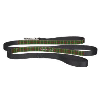 Custom Clan MacMillan Plaid Dog Leash