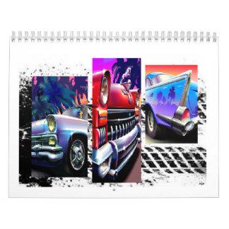 Custom Classic Cars Printed Calendar