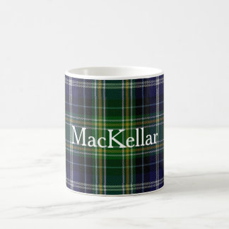 Custom Classic Clan MacKellar Tartan Plaid Mug