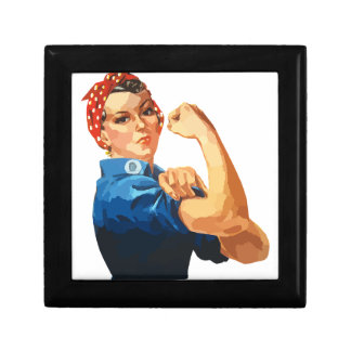 Custom Classic Rosie The Riveter Gift Box