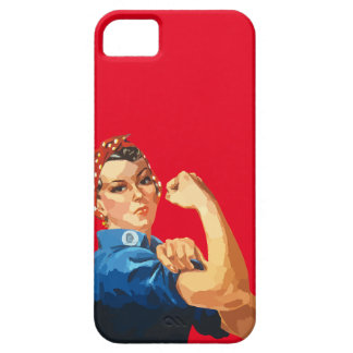 Custom Classic Rosie The Riveter iPhone 5 Case