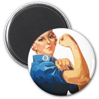 Custom Classic Rosie The Riveter Magnet