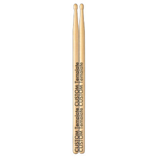 Custom Clayton 2B American Hardwood Drumsticks