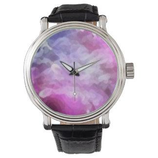 Custom clock fantasy _pink watch
