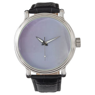 Custom clock violet watch