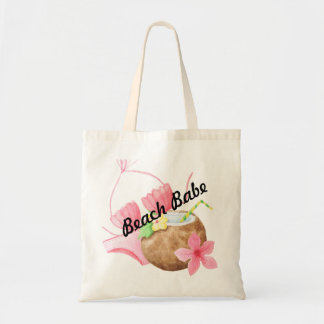 Custom Coconut bikini tote - add your text
