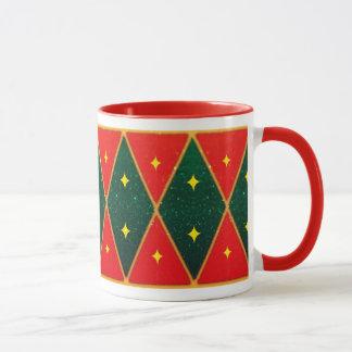 """Custom Coffee Mug with """"Little Drummer Boy"""" design"""
