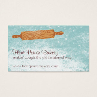 Custom color baking bakery rolling pin flour