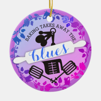 Custom color baking utensils Christmas ornament