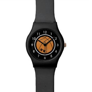 Custom Color Band Basketball Watch