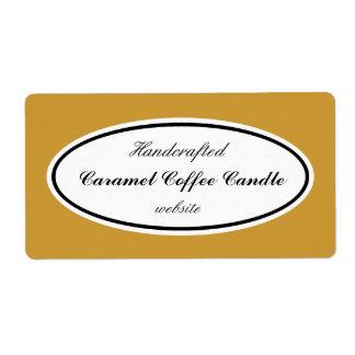 Custom Color Business Labels