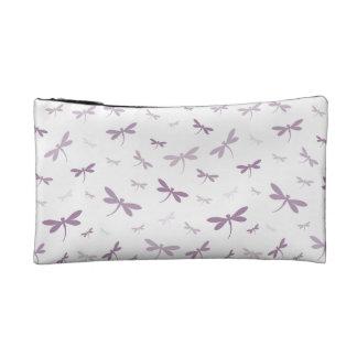Custom Color Dragonflies - Various Shades Makeup Bag