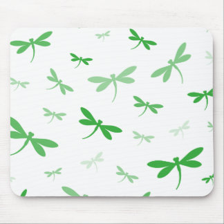 Custom Color Dragonflies - Various Shades Mouse Pad